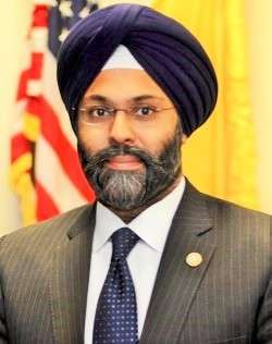 Gurbir S. Grewal has been nominated to be the next attorney general of New Jersey State. (Photo: Bergen County Prosecutors office/IANS) by .