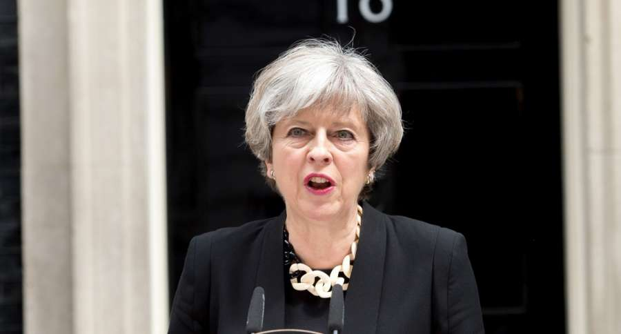 British Prime Minister Theresa May. (File Photo: IANS) by .