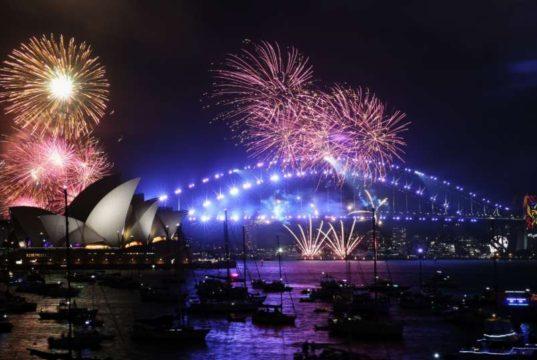 AUSTRALIA-SYDNEY-NEW YEAR-CELEBRATION by .