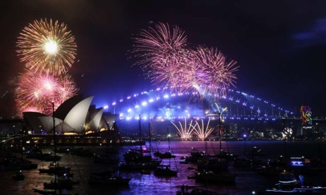 AUSTRALIA-SYDNEY-NEW YEAR-CELEBRATION by .