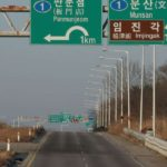 Seoul: A road sign to the truce village of Panmunjom is seen in the South Korean border city of Paju, north of Seoul, on Jan. 3, 2018. The same day, North Korea reopened the suspended inter-Korean communication line at the liaison office in the Joint Security Area, a small strip of land at the truce village.(Yonhap/IANS) by .