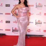 """Mumbai: Actress Sunny Leone at the red carpet of """"63rd Jio Filmfare Awards"""" in Mumbai on Jan 20, 2018.(Photo: IANS) by ."""