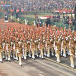 New Delhi: The Delhi Police Marching Contingent on Rajpath during Republic Day Parade 2018 in New Delhi Jan 26, 2018. (Photo: IANS/PIB) by .