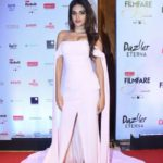 """Mumbai: Actress Nidhhi Agerwal at the red carpet of """"Filmfare Glamour & Style Awards 2017"""" in Mumbai on Dec 1, 2017. (Photo: IANS) by ."""
