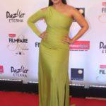 "Mumbai: Actress Huma Qureshi at the red carpet of ""Filmfare Glamour & Style Awards 2017"" in Mumbai on Dec 1, 2017. (Photo: IANS) by ."