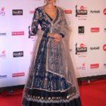 "Mumbai: Actress Evelyn Sharam at the red carpet of ""63rd Jio Filmfare Awards"" in Mumbai on Jan 20, 2018.(Photo: IANS) by ."