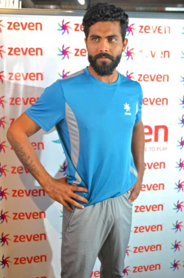 Indian cricketer Ravindra Jadeja. (File Photo: IANS/PIB) by .