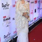 "Mumbai: Actress Rekha at the red carpet of ""Filmfare Glamour & Style Awards 2017"" in Mumbai on Dec 1, 2017. (Photo: IANS) by ."