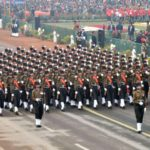 New Delhi: 123 Infantry Battalion Territorial Army (Grenadiers) Marching Contingent on Rajpath during Republic Day Parade 2018 in New Delhi Jan 26, 2018. (Photo: IANS/PIB) by .