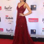 "Mumbai: Actress Kriti Sanon at the red carpet of ""Filmfare Glamour & Style Awards 2017"" in Mumbai on Dec 1, 2017. (Photo: IANS) by ."