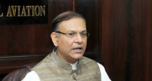 Minister of State for Civil Aviation Jayant Sinha. (File Photo: IANS) by .
