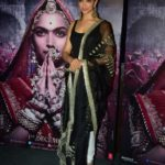 "Mumbai: Actress Deepika Padukone during the 3D trailer launch of her upcoming film ""Padmavati"" in Mumbai on Oct 31, 2017.(Photo: IANS) by ."