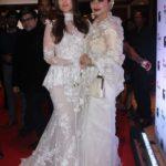 "Mumbai: Actresses Rekha and Kareena Kapoor Khan at the red carpet of ""Filmfare Glamour & Style Awards 2017"" in Mumbai on Dec 1, 2017. (Photo: IANS) by ."