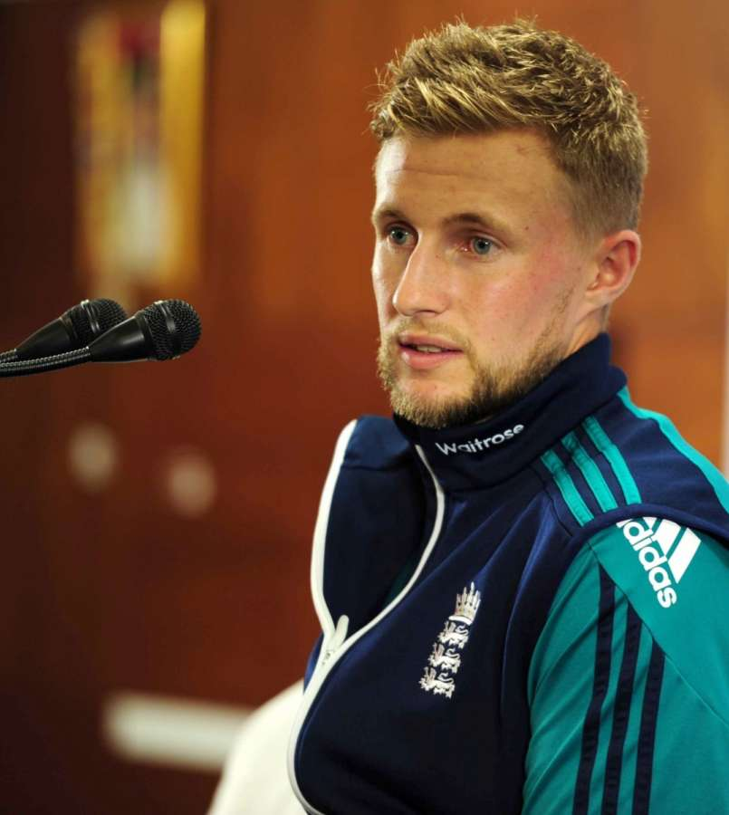 Bengaluru: Joe Root of England addresses during practice session ahead of the third T20 match between India and England in Bengaluru. (Photo: IANS) by .