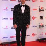 "Mumbai: Filmmaker Karan Johar at the red carpet of ""63rd Jio Filmfare Awards"" in Mumbai on Jan 20, 2018.(Photo: IANS) by ."