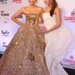 "Mumbai: Actresses Jacqueline Fernandez and Sonam Kapoor at the red carpet of ""Filmfare Glamour & Style Awards 2017"" in Mumbai on Dec 1, 2017. (Photo: IANS) by ."
