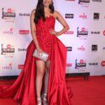 "Mumbai: Miss World Manushi Chhillar at the red carpet of ""63rd Jio Filmfare Awards"" in Mumbai on Jan 20, 2018.(Photo: IANS) by ."