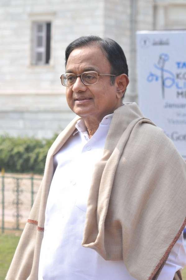 Congress leader P Chidambaram. (File Photo: IANS) by .