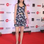 "Mumbai: Actress Akshara Haasan at the red carpet of ""63rd Jio Filmfare Awards"" in Mumbai on Jan 20, 2018.(Photo: IANS) by ."
