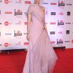"Mumbai: Actress Diana Penty at the red carpet of ""63rd Jio Filmfare Awards"" in Mumbai on Jan 20, 2018.(Photo: IANS) by ."