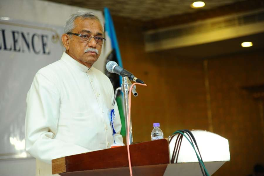 Ghiyasuddin Babukhan, chairman of the Hyderabad Zakat and Charitable Trust. by .