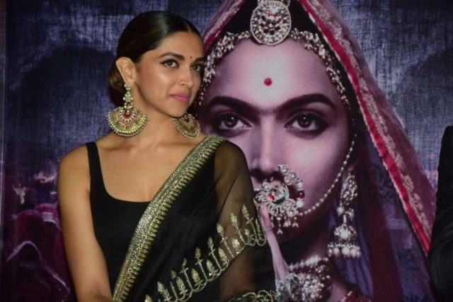 Mumbai: Actress Deepika Padukone during the 3D trailer launch of her upcoming film