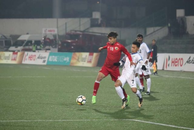 Shillong: Players in action during an I-League match between Shillong Lajong FC and Indian Arrows in Shillong. (Photo: IANS) by .