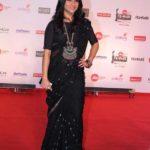 "Mumbai: Actress Konkona Sen Sharma at the red carpet of ""63rd Jio Filmfare Awards"" in Mumbai on Jan 20, 2018.(Photo: IANS) by ."