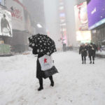 U.S.-NEW YORK-SNOW STORM by .