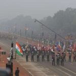 New Delhi: Indian Army Band drawn from 39 Gorkha Training Centre and 1 EME Centre, march on Rajpath with ASEAN flag and flags of the 10 ASEAN countries during Republic Day Parade 2018, in New Delhi Jan 26, 2018. (Photo: IANS) by .