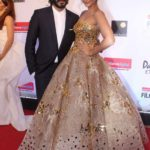 """Mumbai: Actress Sonam Kapoor along with his brother Harshvardhan Kapoor at the red carpet of """"Filmfare Glamour & Style Awards 2017"""" in Mumbai on Dec 1, 2017. (Photo: IANS) by ."""