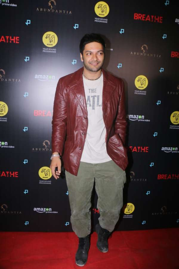 Mumbai: Actor Ali Fazal at the special screening of upcoming web series
