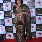 """Mumbai: Actress Vidya Balan at the red carpet of """"Star Screen Awards 2017"""" in Mumbai on Dec 3, 2017. (Photo: IANS) by ."""