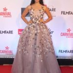 "Mumbai: Actress Pooja Hegde at the red carpet of ""Filmfare Glamour & Style Awards 2017"" in Mumbai on Dec 1, 2017. (Photo: IANS) by ."