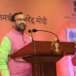 New Delhi: Union Human Resource Development Minister Prakash Javadekar addresses at the launch of Prime Minister Narendra Modi's book 'Exam Warriors' in New Delhi on Feb 3, 2018. (Photo: IANS/PIB) by .