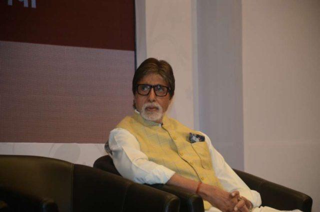Mumbai: Actor Amitabh Bachchan at a charity programme in Mumbai on Jan 28, 2018. (Photo: IANS) by .