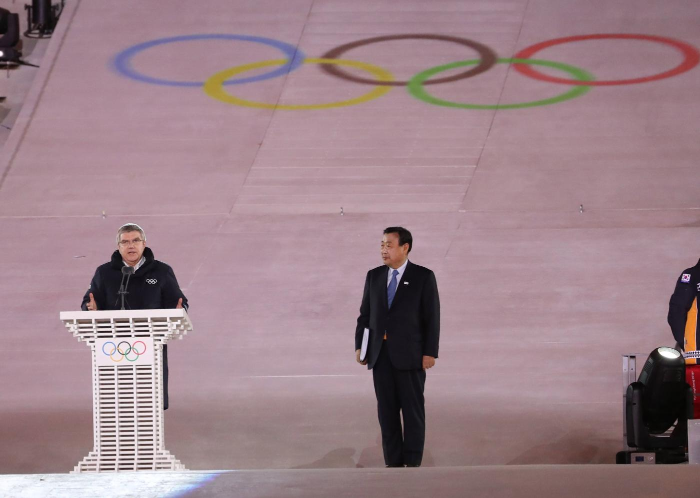(SP)OLY-SOUTH KOREA-PYEONGCHANG-CLOSING CEREMONY by .