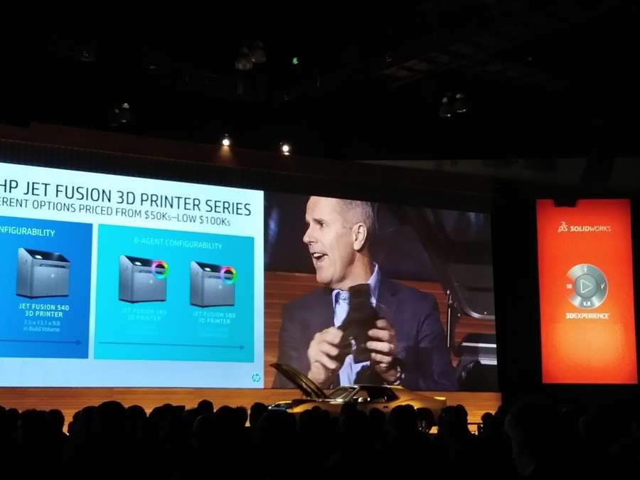 Stephen Nigro, President, 3D Printing Business, HP Inc (Photo: IANS) by .