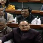 New Delhi: Union Health Minister JP Nadda during presentation of the Union Budget 2018-19 at Parliament on Feb. 1, 2018. (Photo: Video Grab/IANS) by .