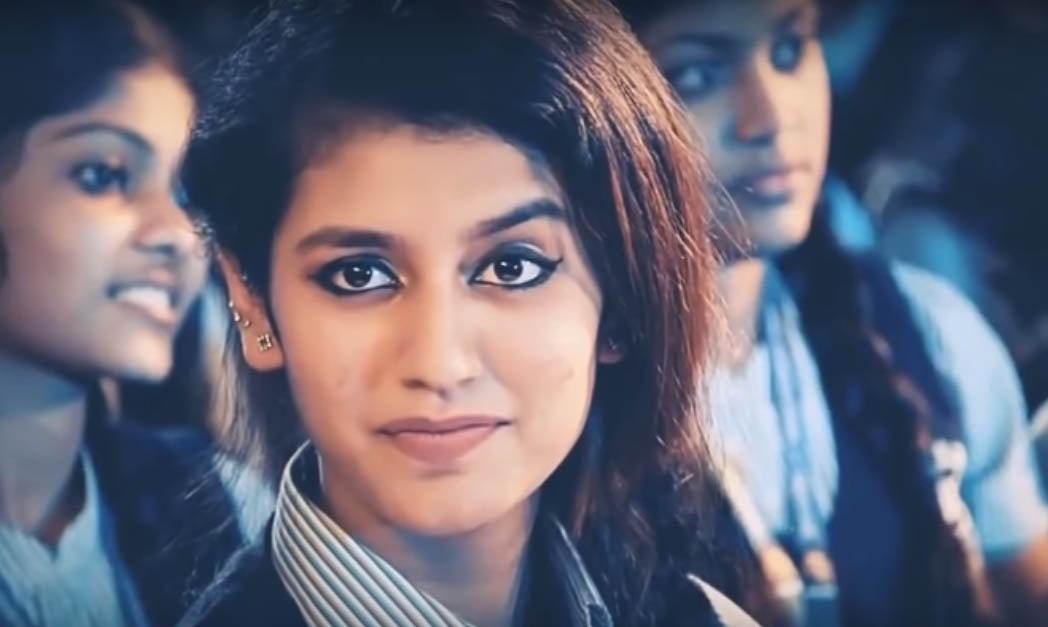 Priya Varrier Prakash. (Photo: Video Grab) by .