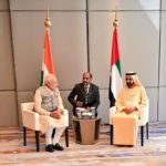 Dubai: Prime Minister Narendra Modi meets Vice President and Prime Minister of UAE and the ruler of Dubai Mohammed Bin Rashid Al Maktoum in Dubai, United Arab Emirates on Feb 11, 2018. (Photo: IANS/MEA) by .