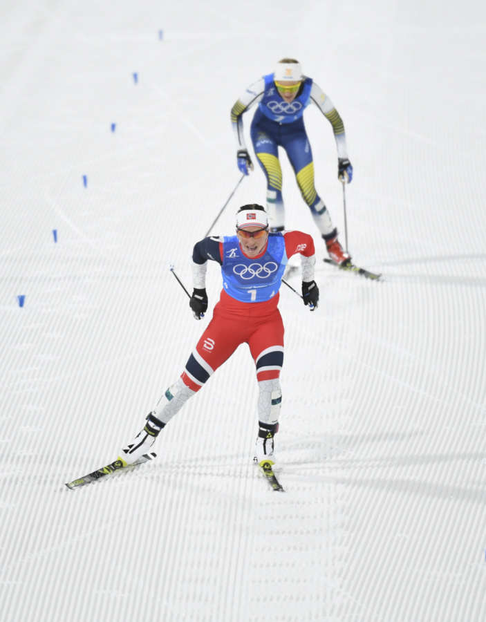 (SP)OLY-SOUTH KOREA-PYEONGCHANG-CROSS-COUNTRY SKIING-LADIES' 4X5KM RELAY by .