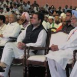 New Delhi: Congress leaders Rahul Gandhi and Manmohan Singh during the 84th plenary session of Indian National Congress at the Indira Gandhi Indoor Stadium in New Delhi on March 17, 2018. (Photo: IANS) by .