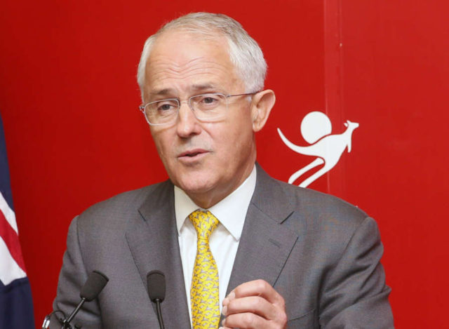 Australian Prime Minister Malcolm Turnbull. (File Photo: IANS) by IANS_ARCH.