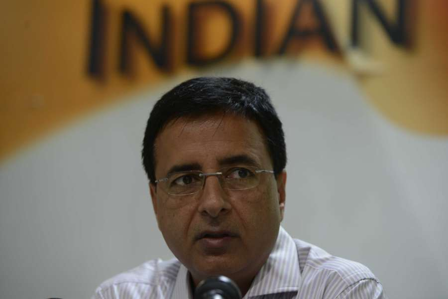 Congress leader Randeep Singh Surjewala. (File Photo: IANS) by .