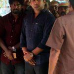Chennai: Jaya TV CEO Vivek Jayaraman arrives to pay his last respects to the mortal remains of M. Natarajan, expelled and now jailed AIADMK leader V.K. Sasikala's husband, at his residence in Chennai on March 20, 2018. (Photo: IANS) by .