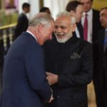London: Prime Minister Narendra Modi shares a light moment with Prince Charles during his visit to the science museum, to view an exhibition on 5000 years of Science and Innovation, in London on April 18, 2018. (Photo: IANS/PIB) by .