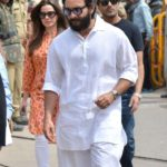 Jodhpur: Actor Saif Ali Khan arrives to appear before a Jodhpur rural court in connection with the hearing in black buck poaching case, on April 5, 2018. While Actor Salman Khan was found guilty on Thursday in the 1998 black buck poaching case while the other four accused actors -- Sonali Bendre, Saif Ali Khan, Tabu and Neelam -- were acquitted of all charges. (Photo: IANS) by .