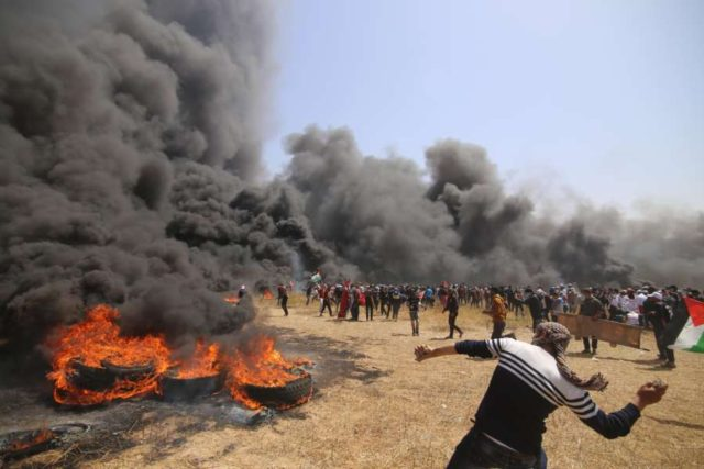 MIDEAST-GAZA-CLASHES by .
