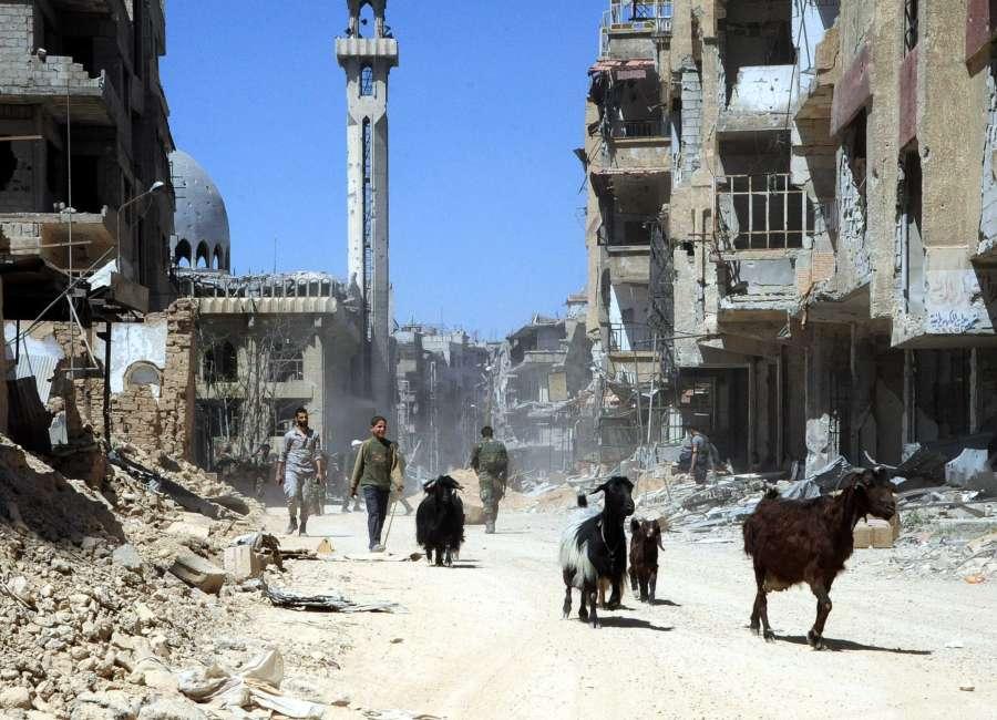 SYRIA-DAMASCUS-ISLAM ARMY REBELS-EVACUATION by .